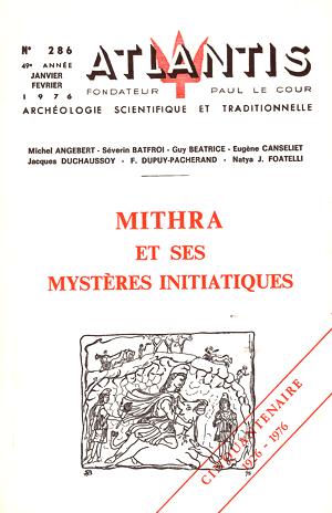 Mithra et ses mystères initiatiques - Atlantis
