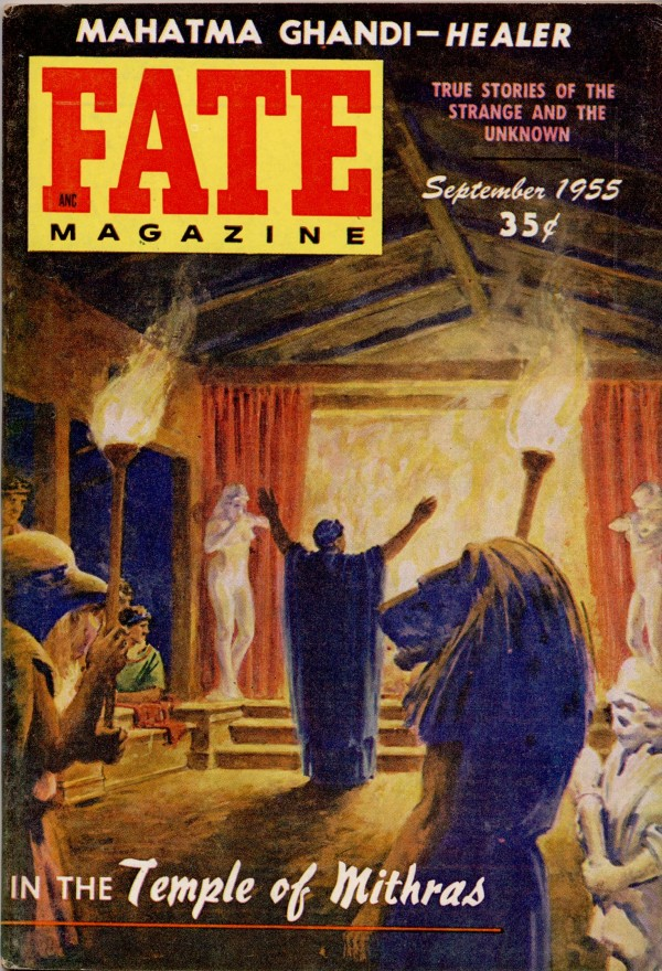 Fate Magazine: In the Temple of Mithras